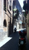 MY STREET IN ORVIETO - VICCOLO ALBANI
