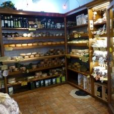 Cheese shop - Pienza
