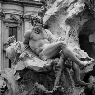 Fontana dei Quattro Fiumi on Piazza Navona