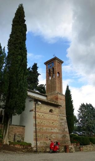 Dievole - The chapel