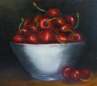 Cherries 30x25cm - $175