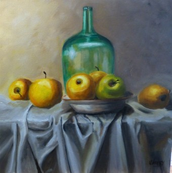 45x45cm Oil on canvass - $355